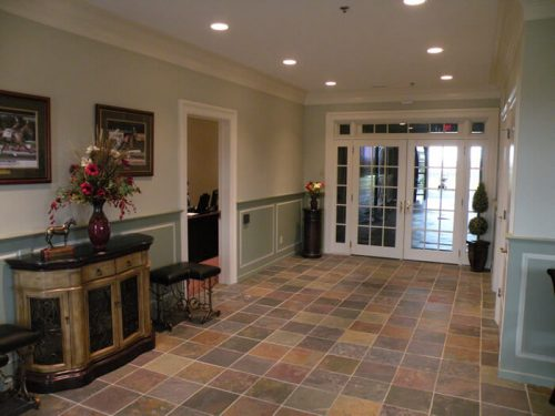 interior horse barn design with office space