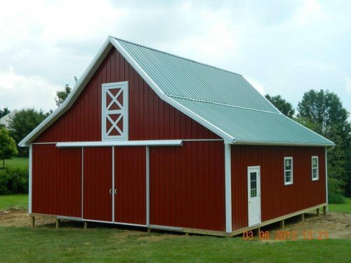 custom-made horse stables